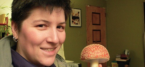 Me with a Fly Agaric